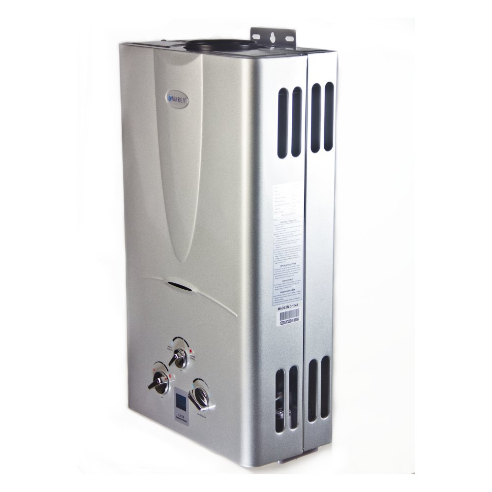 Marey Power Gas 10L 2.7  GPM Propane Gas Digital Panel Tankless Water Heater by MAREY (Image #5)