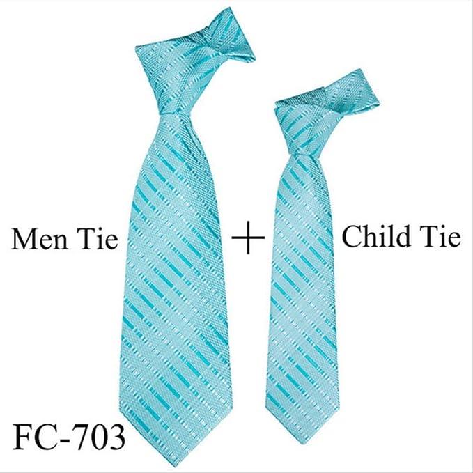 Xjwq - Corbata New Men Tie 11 Colores para niños (100% Jacquard ...