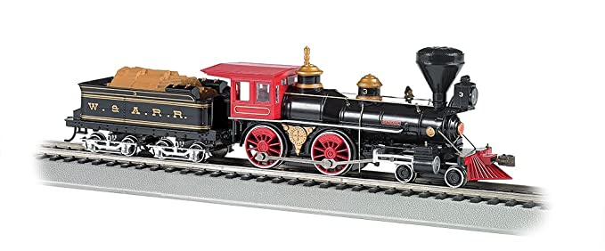 Bachmann Industries Trains 4-4-0 American Dcc Sound Value Equipped The  General Wood Load Ho Scale Steam Locomotive