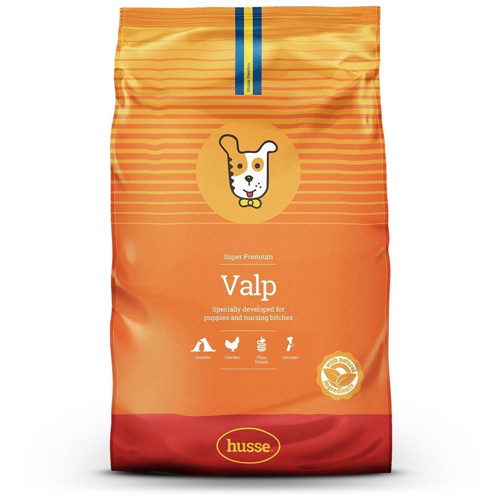 15kg Husse Valp Super Premium Dry Dog Food for Puppies & Nursing Bitches 15 kg
