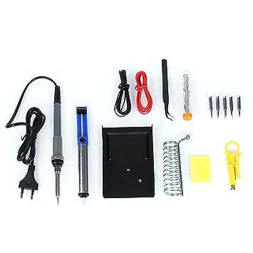 【 15pcs/set 】 Hakkin EU Plug 60 W/220 V) Kit de