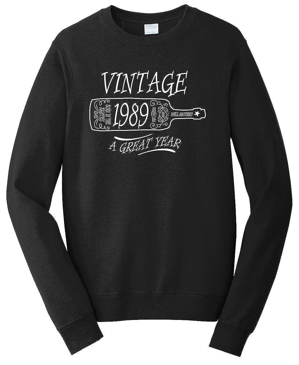 Tenacitee Unisex Aged Like a Fine Wine 1989 Sweatshirt