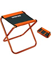 """SPOFINE Mini Camp Stool, Lightweight Camping Stool, Portable Folding Camp Chair, Foldable Outdoor Chairs for Travel, Camping (X-Large:16""""x14""""x13""""; Large:12""""x12""""x10.5""""; Medium:10.6""""x9.8""""x8.9"""" for Kids)"""