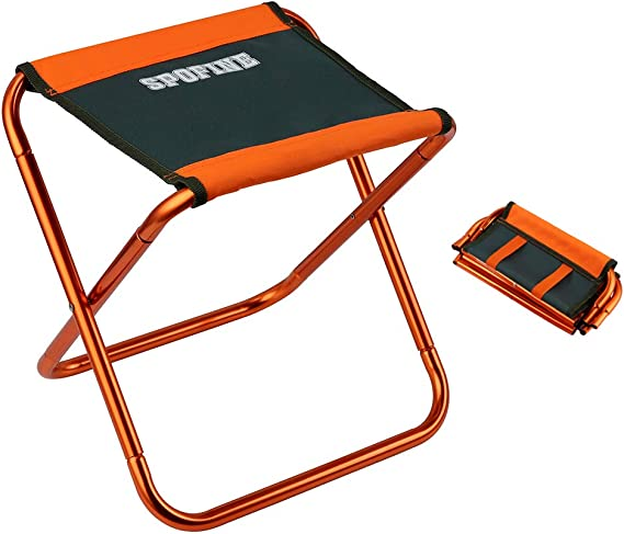 Procener Portable Folding Stools for Camping Retractable Stool Premium Lightweight Collapsible Stools for Fishing BBQ Outdoor Travel Hiking