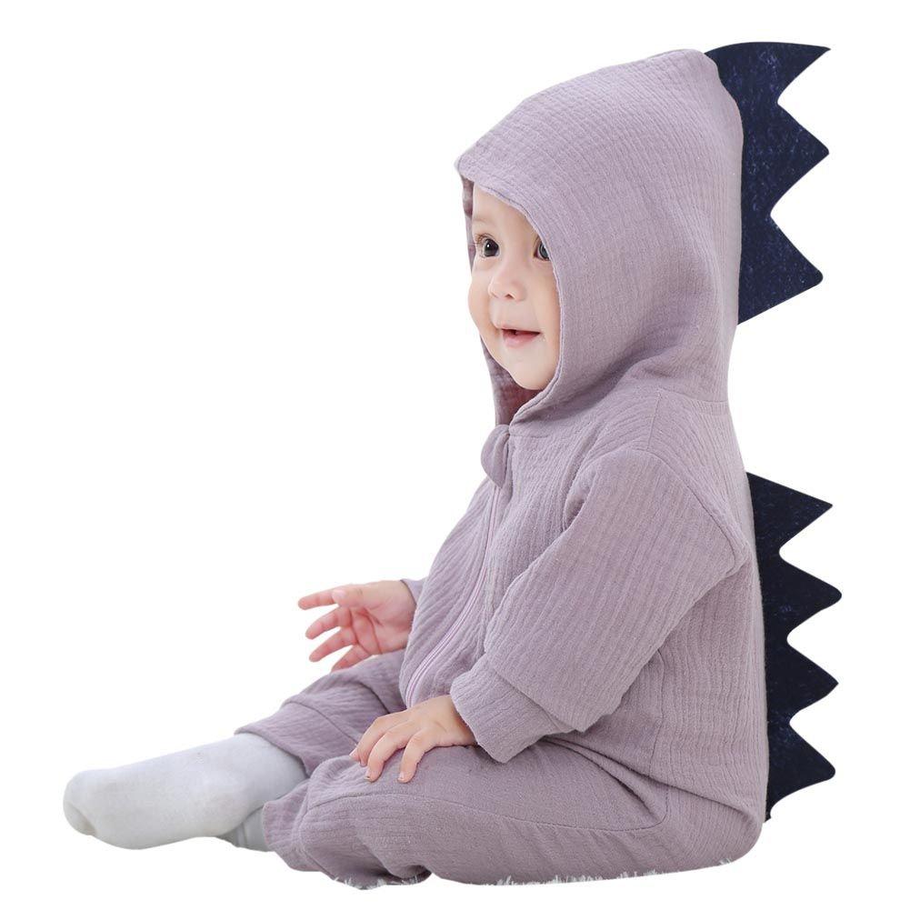 Baby Onesie, Baywell Lange Ärmel Dinosaurier Muster Toddlers Baby Junge Mädchen Strampler