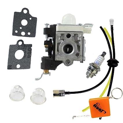 Huri carburador desbrozadora Kit para ZAMA rb-k85 Echo Blower Carb ...