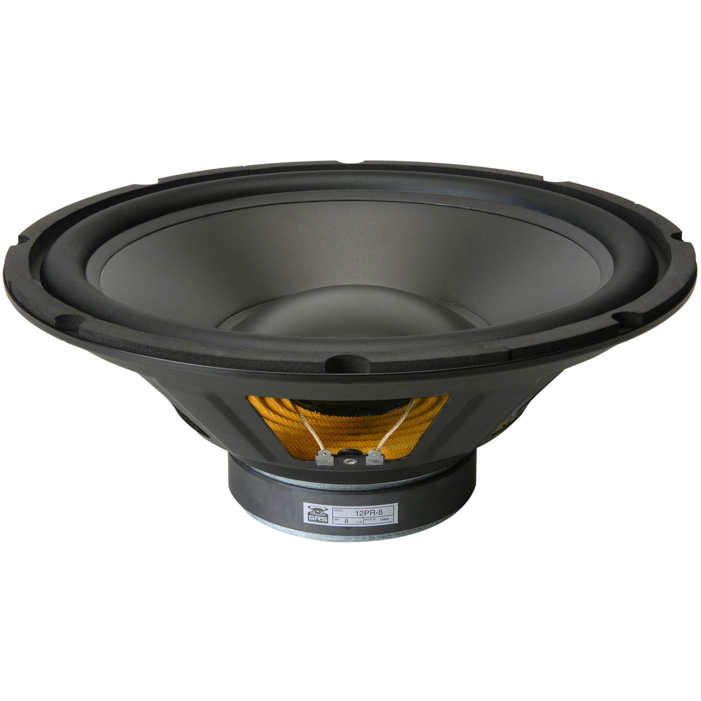 GRS 12PR-8 12'' Poly Cone Rubber Surround Woofer