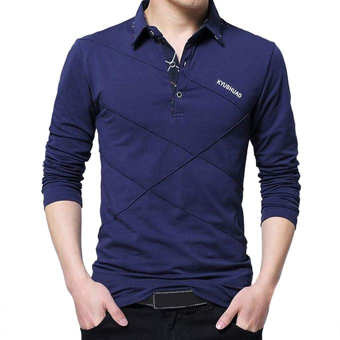 Rooper Sudadera para Hombre Manga Larga El Botón Chaqueta De Invierno para Hombre Camiseta Hombre Deportivas Blusa Tops Camisetas Moda Casual Impresión Ropa ...