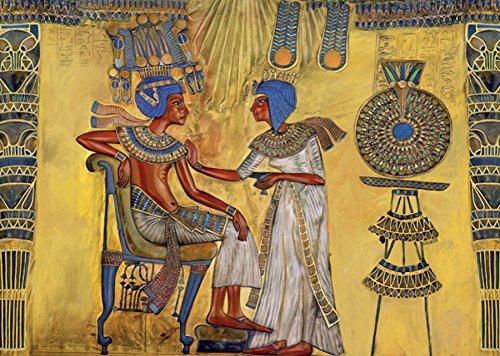 D-Toys Egyptian Art (Around the World) 1000 Piece Fine Art Jigsaw Puzzle