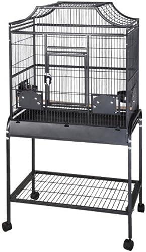 A E Cage Co. Elegant Style Flight Cage, 28 x 18 , Black