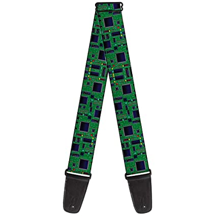 buckle down gs w35588 circuit board2 guitar strap amazon in rh amazon in circuit board 20380r circuit board 235 s