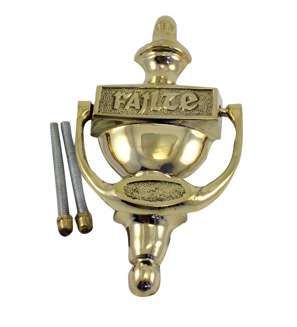 Liffey Artefacts Plain Brass Failte Door Knocker