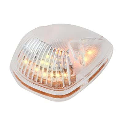 Grand General 82261 LED Light (Triangle Cab Marker Amber with Clear Lens): Automotive