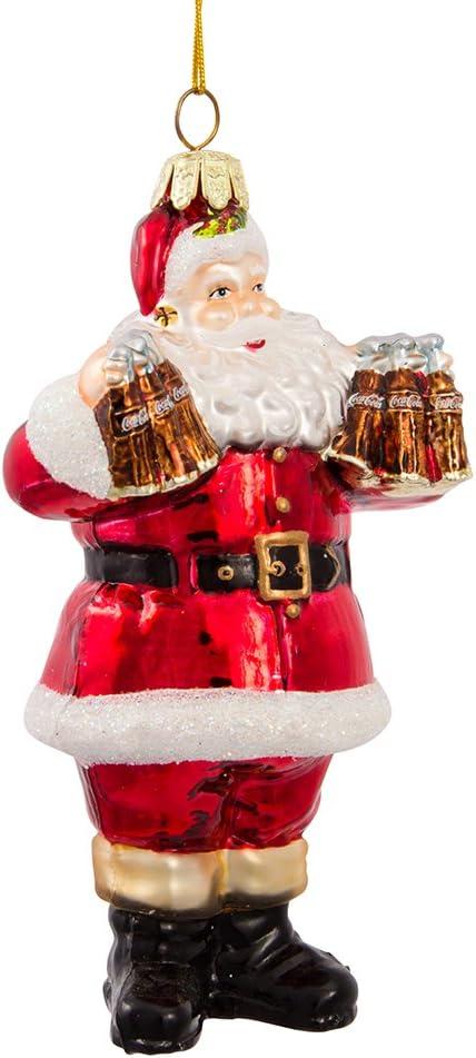 Coca-Cola SANTA*MUSICAL Light up Ornament*Coke*Coca Cola*COLLECTIBLE*Fast Ship!