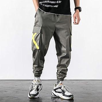 Hnrlsl Pantalones Harem Cargo Hipster Cargo Pants Hombres Big Pocket Streetwear Harem Pants Harajuku Hombre Hip Hop Joggers Pantalones Pantalones De Chandal Joggers Amazon Es Deportes Y Aire Libre