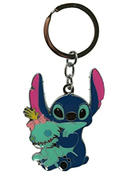 Sliver Stitch in Color Llavero - Lilo and Stitch Key Ring ...