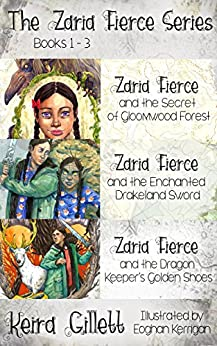 Zaria Fierce Series (Omnibus/Bundle) Books 1-3 by [Gillett, Keira]
