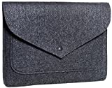 Gmakin - Handmade Macbook & Laptop Sleeve Case - Macbook Air & Pro Felt Case for 13.3 inch - Sleeve Case Cover for Apple Macbook Pro 13 Retina & Laptop - Natural Felt Laptop Case