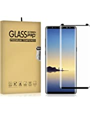 Galaxy Note 9 Screen Protector, 2-Pack Temper Glass Screen Protector for Samsung Galaxy Note 9 9H Hardness Crystal Clear Scratch Resistant Bubble Free Easy Installation Screen Film