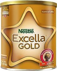 Nestlé Excella Gold Leche en Polvo para Niños de 1 a 3 Años, lata 1,6 kg