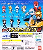 Gashapon Tokumei Sentai Go-Busters Go-Busters swing 2 all seven set