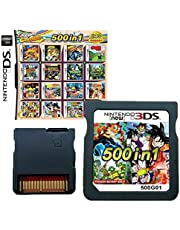 $30 » 500 in 1 Game Cartridge Multicart, Game Pack Card Super Combo for Nintendo DS/NDS/NDSL/NDSi/3DS/2DS XL