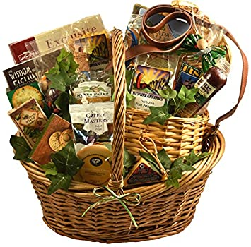 Amazon A Finer Catch Deluxe Fishing Gift Basket For Him
