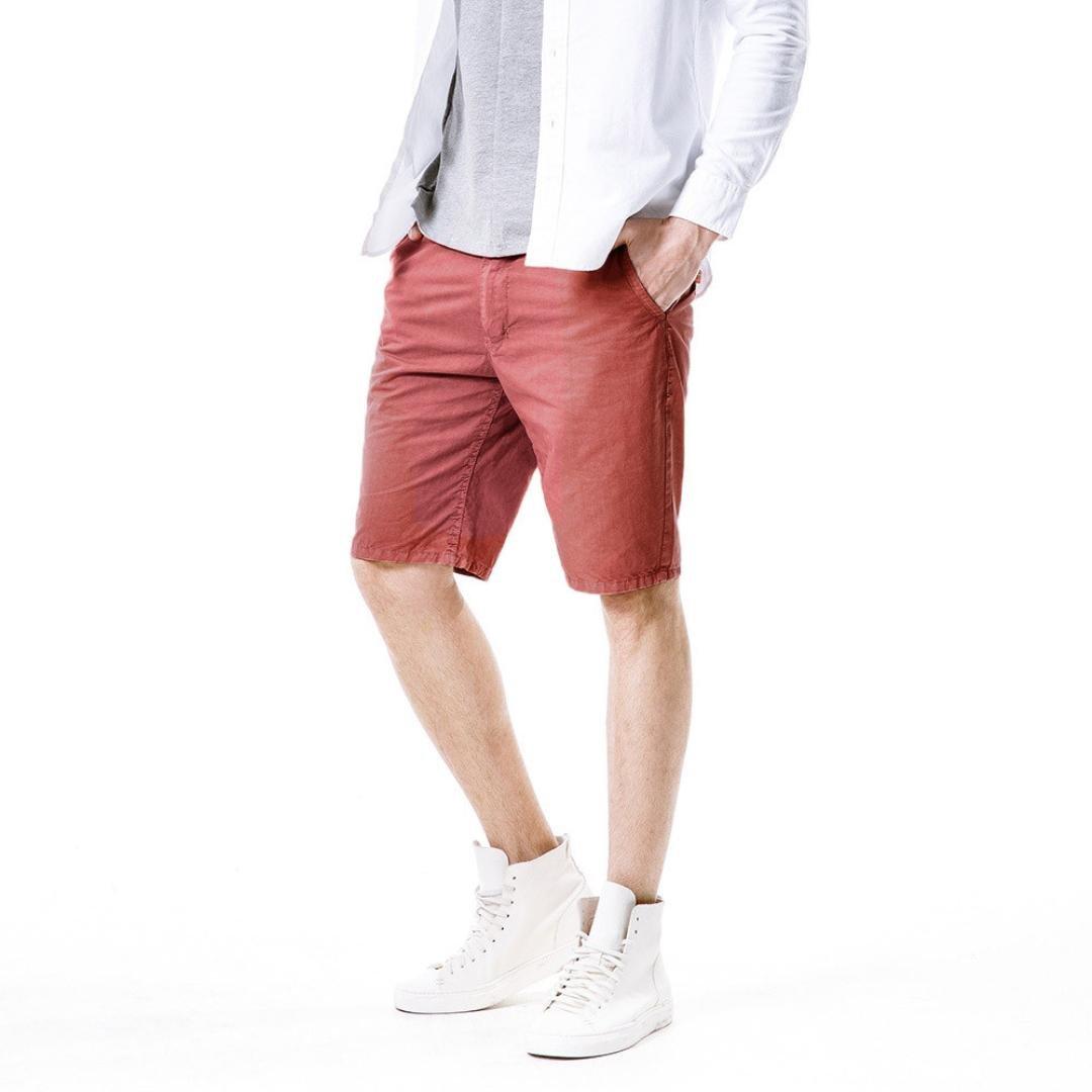 Classic Gargo Pants PASATO New Mens Casual Pocket Beach Work Casual Short Trouser Shorts