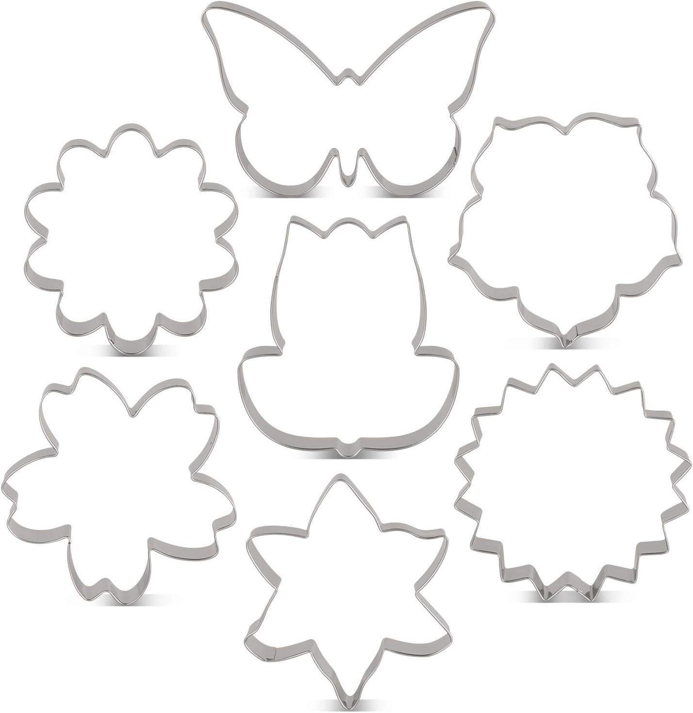 mini blossom cutters Stephanotis blossom cutters,Sugarcraft cutters,Small calyx cutter,Jasmin flower cutter,sugarcraft tools,Clay cutters