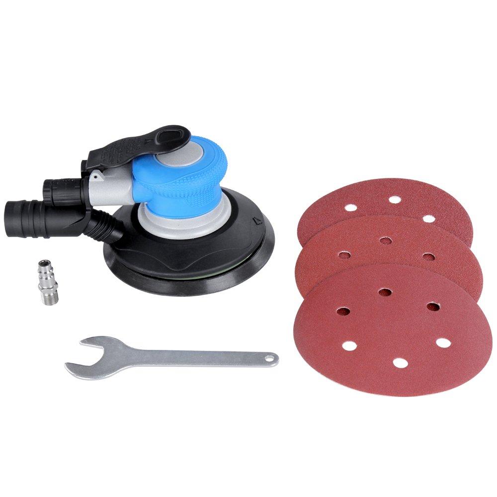 Timbertech lijadora rotativa, orbital, de Aire Comprimido, diámetro de disco aprox.150 mm.: Amazon.es: Bricolaje y herramientas