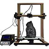 HICTOP 3Dプリンター Reprap Prusa i3 高精度 大容量造形サイズ 多種なフィラメントに対応できる 工業級3Dプリンター (3DP-22)