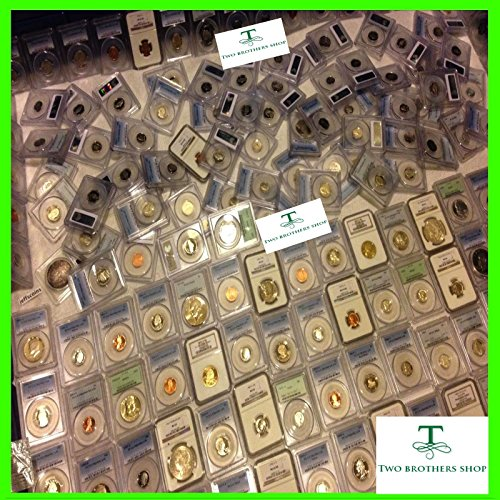 Unc No Coins (ESTATE SALE OLD US COIN PCGS NGC GRADED 1 SLAB LOT SILVER GOLD 10 YEARS + 1 GRADED PROOF OR UNC COIN FROM HUGE LOT BIG SALE Lincoln Cents, Roosevelt dimes, Jefferson Nickels, Washington Quarters)