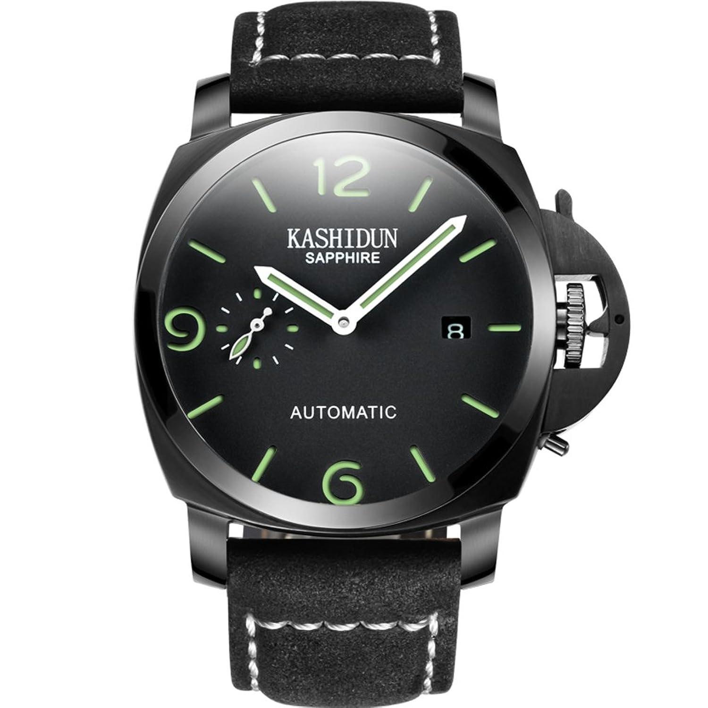 Mode Herrenuhr- einfache wasserdichte Armbanduhr-Shining Stahluhr-A