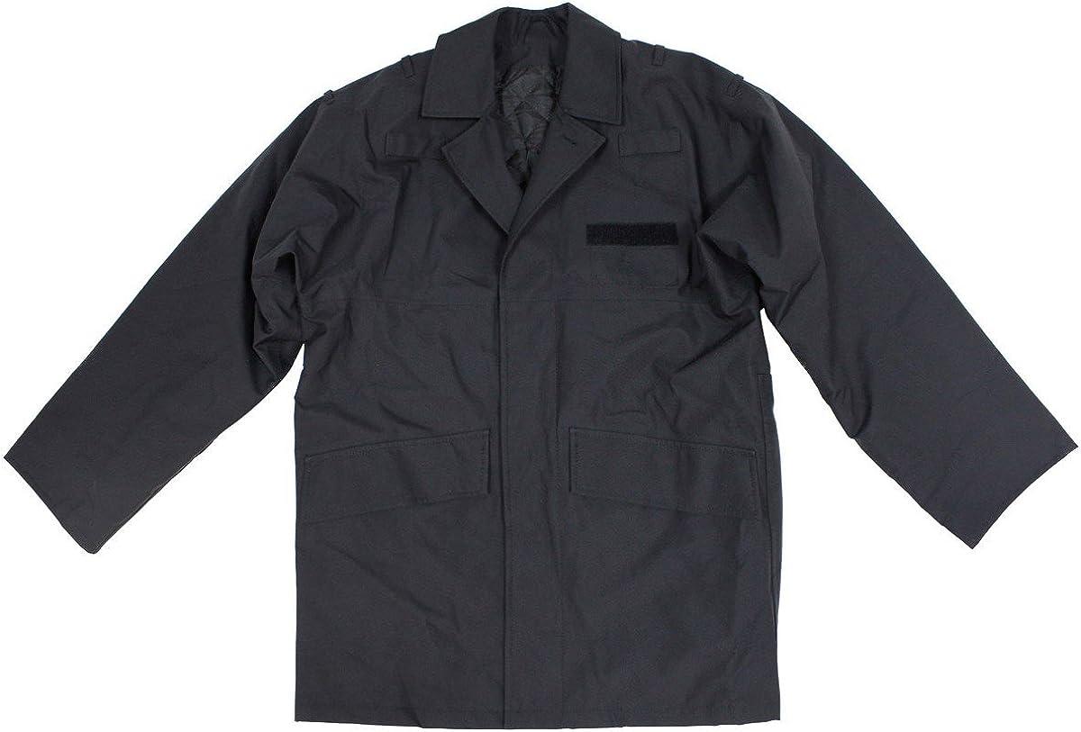 viz-uk wear Genuine British Police Black Lined Rain Jacket Grade 1