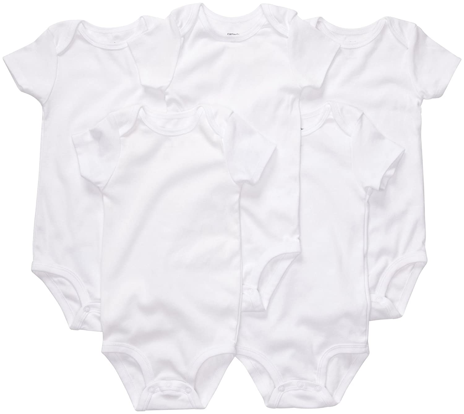 Amazon Carter s Uni Baby 5 Pack Short Sleeve Bodysuits