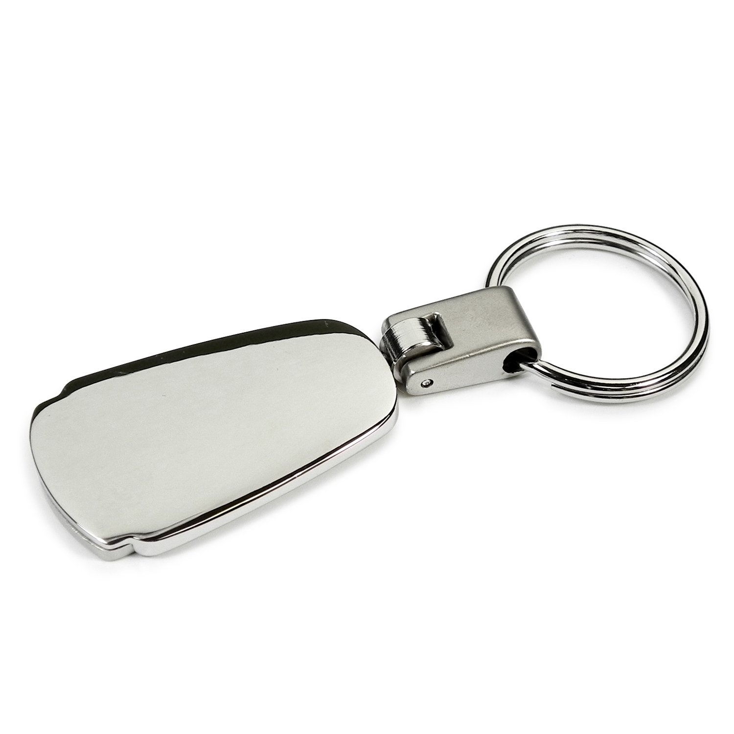 Nissan Logo Chrome Metal Tear Drop Auto Key Chain Au-Tomotive Gold INC