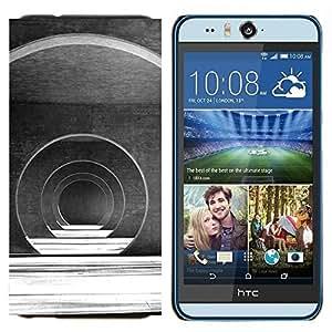 EJOOY---Cubierta de la caja de protección para la piel dura ** HTC Desire Eye M910x ** --Salón de Arquitectura Futurista
