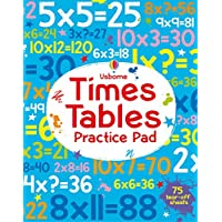 Times Tables Practice Pad (Tear-Off Pads)