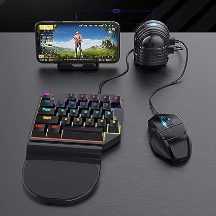 Teclado Bluetooth Mouse Batalla Controlador PUBG Convertidor ...