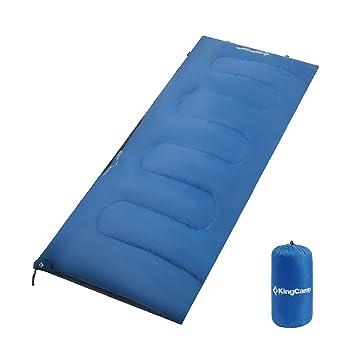 KingCamp Ultraligera Oxígeno Saco de Dormir 180 × 75 cm Verano Saco Rectangular para Acampar, Senderismo y Trekking Ligero, Viaje: Amazon.es: Deportes y ...