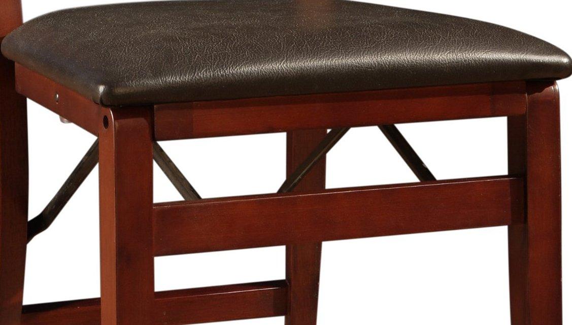 Linon Keira Pad Folding Chair, Set of 2