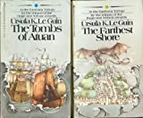 Ursula K. LeGuin Vintage Set (3 Paperback Books): The Farthest Shore + A Wizard of Earthsea + The Tombs of Atuan (Earthsea: Trilogy)