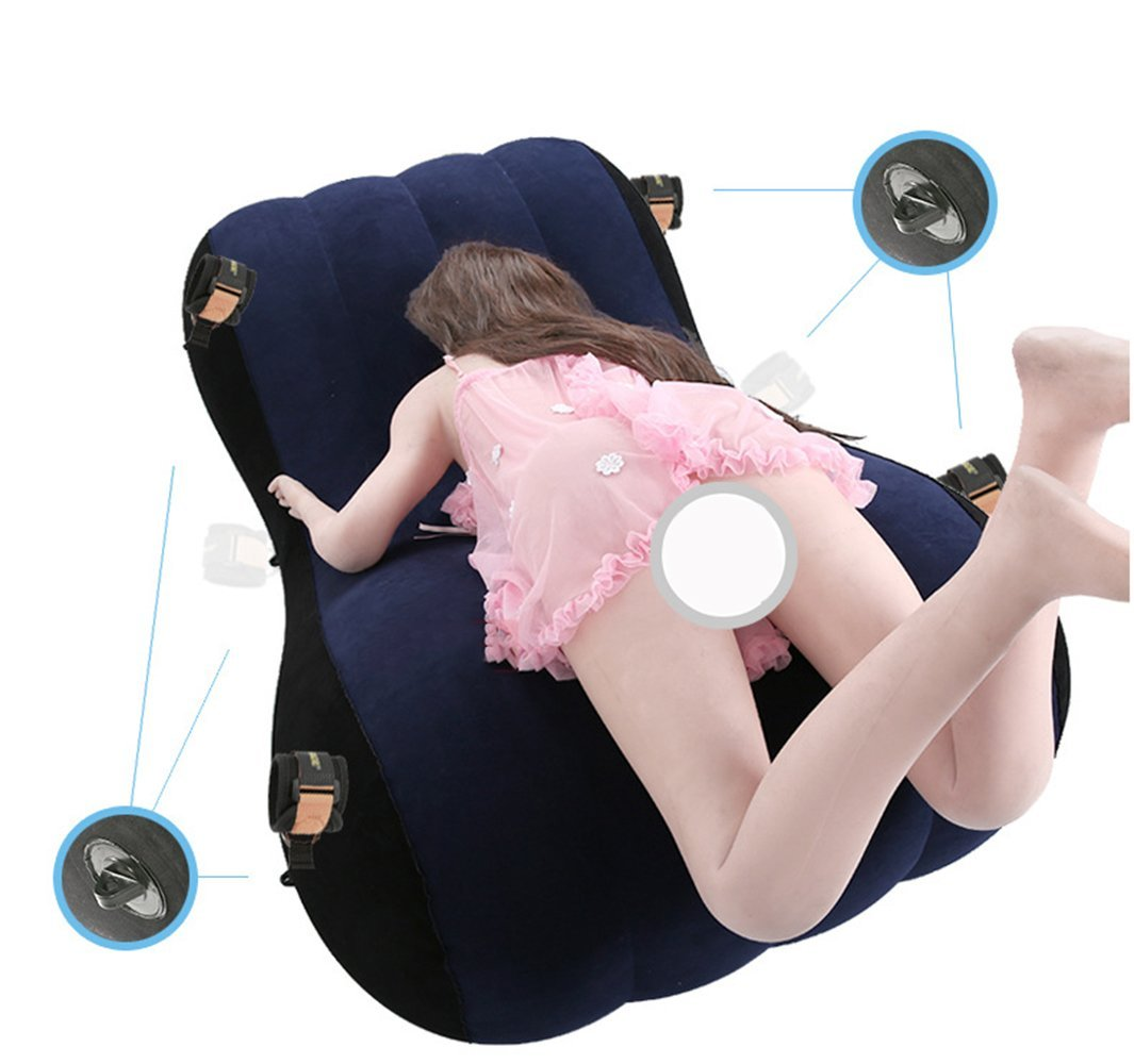 FLJUN - Cojín hinchable para el hombro, sofá sexual, sillón, sofá ...