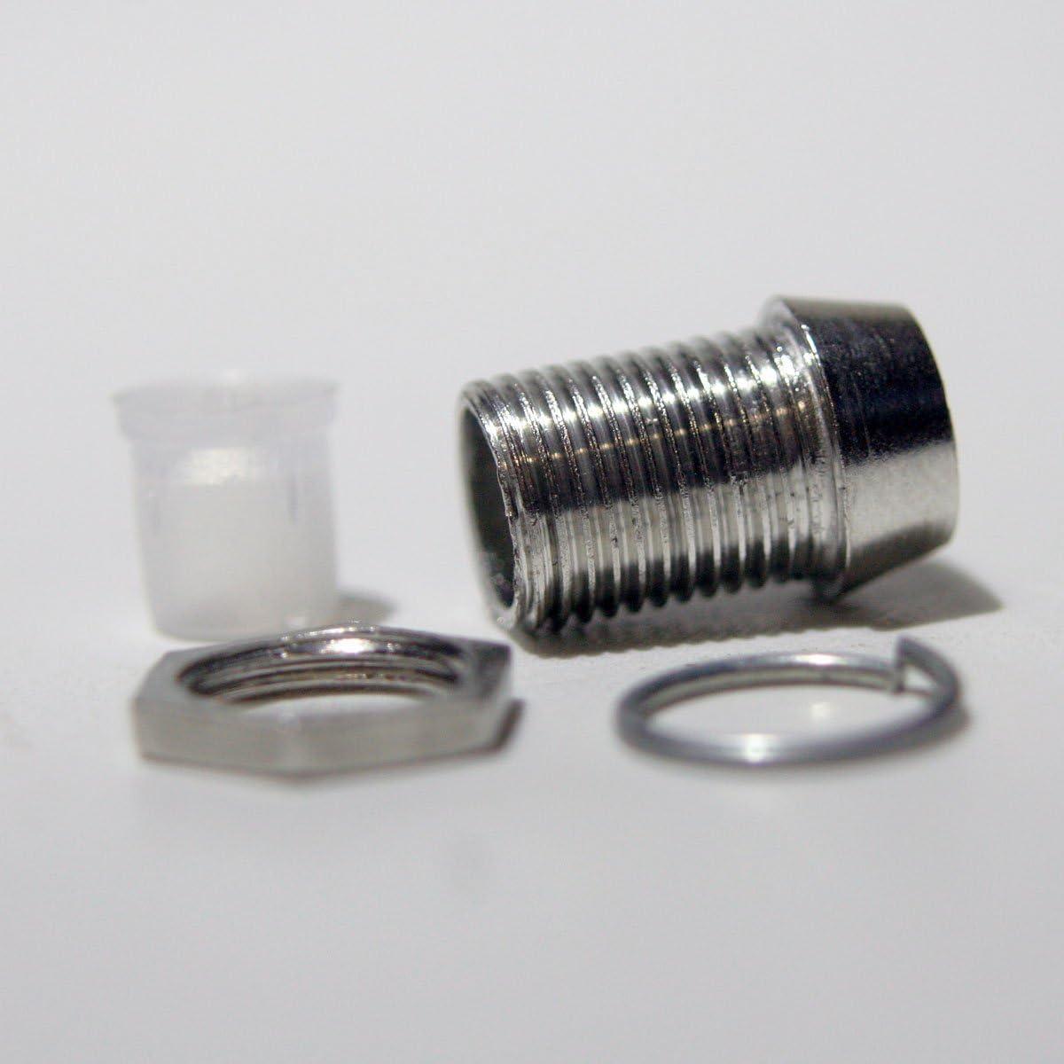 World Trading Net 20 Metallfassungen Schraube Für 5mm Elektronik