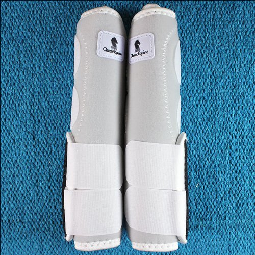 Classic Equine Legacy SMB Boots HND Large White (White Virgin Tissues)