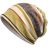 Boboder Sombrero de la quimica del sombrero de la raya del sombrero de las mujeres Sombrero de la cabeza del pañuelo del…