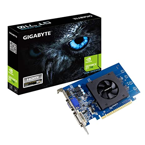 Gigabyte GV-N710D5-1GI GeForce GT 710 1GB GDDR5 - Tarjeta ...