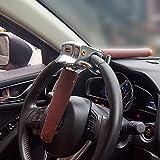 Brown Car Universal Foldable Car Steering Wheel