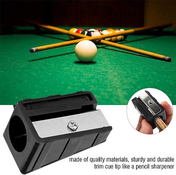 3pcs//Set Billiards Pool Cue Tip Sharpener Shaper Trimmer Corrector Tool Red Hot