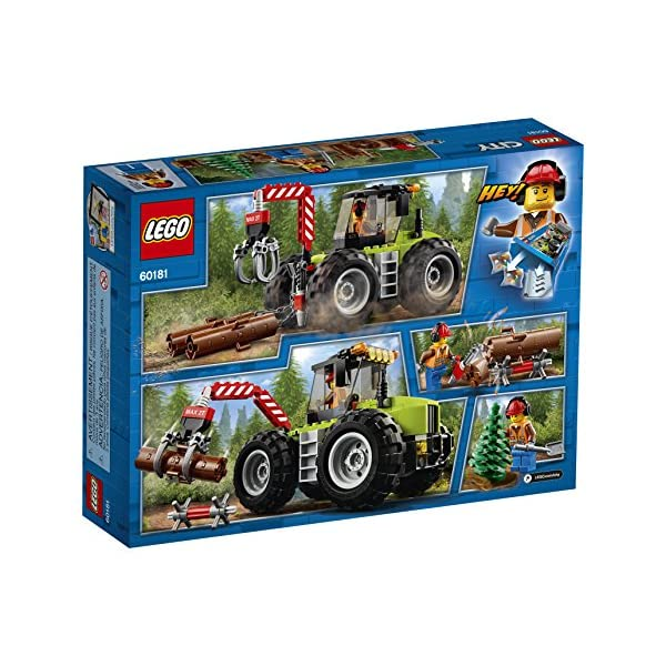 LEGO City Forest Tractor 60181 Building Kit (174 Pieces) (Discontinued by Manufacturer)